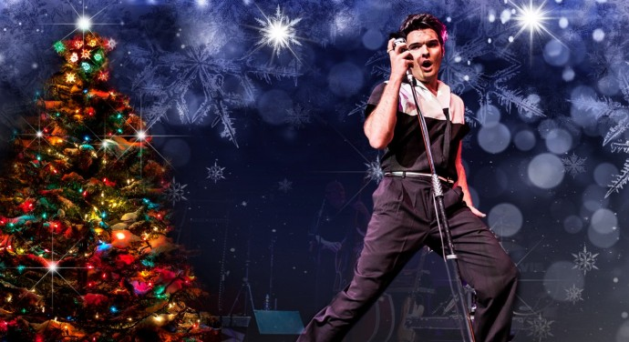 Ben Thompson, star of Elvis : I'll Be Home For Christmas